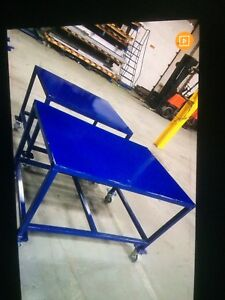 Heavy duty metal work benches and frame for sale