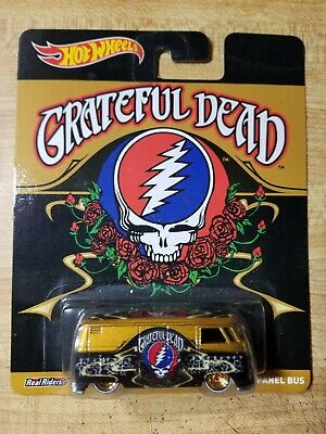 Hot Wheels Pop Culture Grateful Dead Volkswagen T1 Panel Bus W/Real riders.