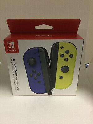 Nintendo Switch Joy-Con Controller Blue / Neon Yellow Joy-Con (L-R) ,New, Sealed
