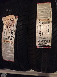 4 new tires size 16