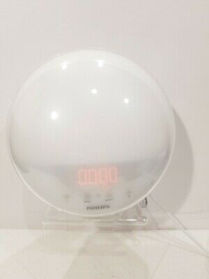 Philips HF3520 Wake-Up Light Alarm Clock Radio W/ 5 Natural Sleep Sounds