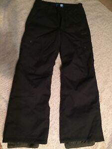 Black ORAGE SNOW PANTS- men's small