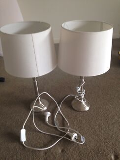2 X lamps Bruce Belconnen Area Preview