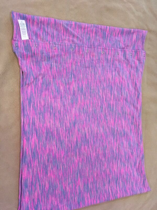 Ivivva Scarf Girls By Lululemon Pink Space Dye One Size