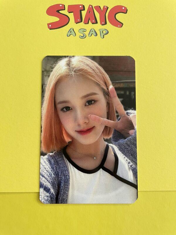 StayC mokket shop fansign photocard J