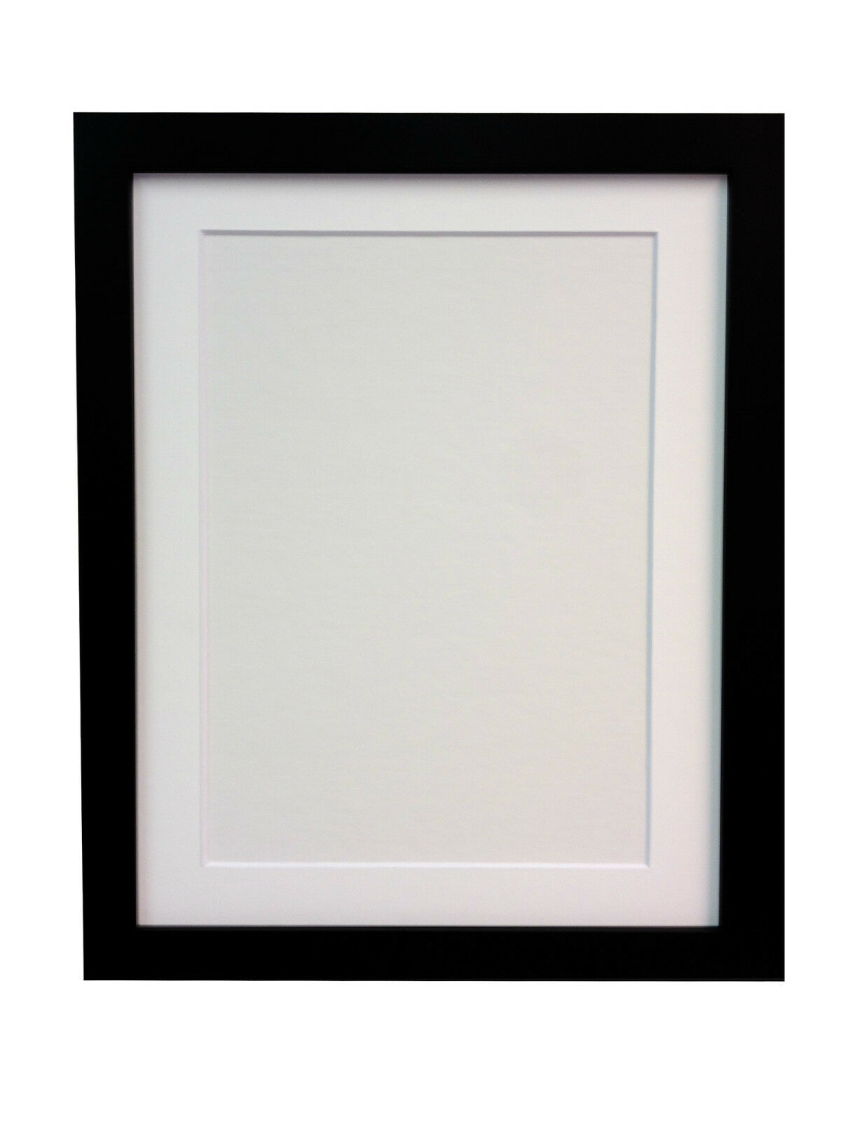 White Amp Black Large Photo Picture Frames With White Ivory