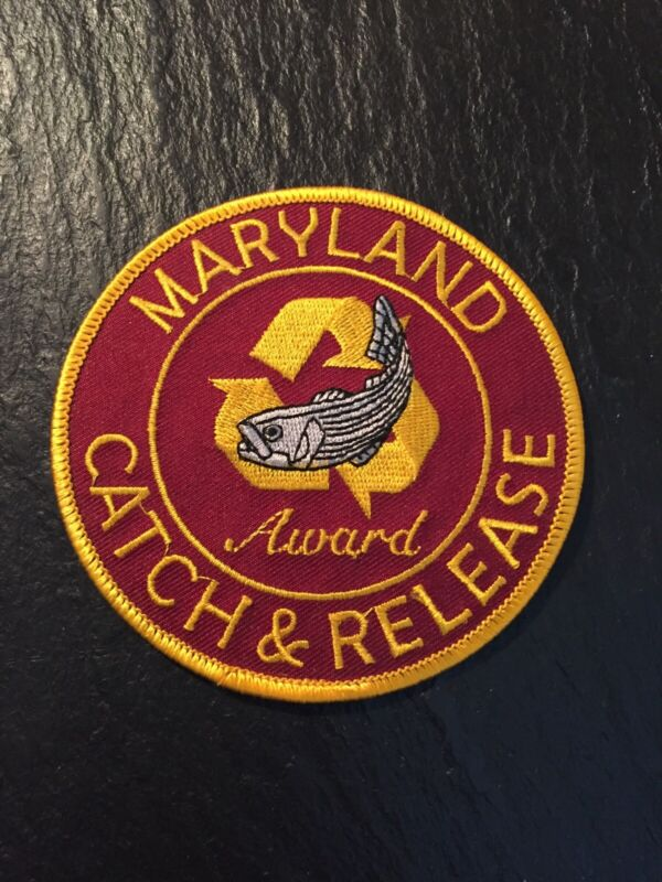MARYLAND CATCH & RELEASE FISHING AWARD PATCH