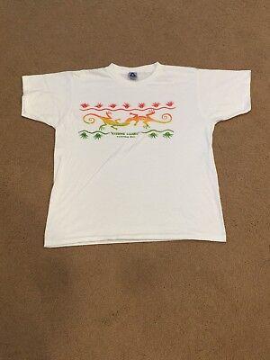 (America Vintage T-Shirt Tortola BVI size XL unworn Kissing Lizards)