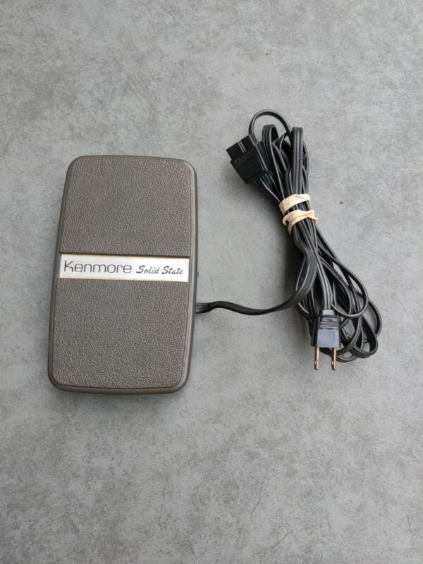 Vintage Sears Kenmore Solid State Foot Pedal. Model 6817