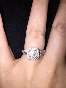 Size 6 engagement ring