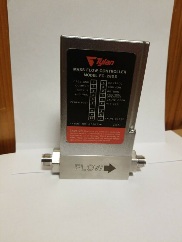 Tylan Mykrolis Flow Controller, FC-280SAV-6S, Argon, 60 SCFH