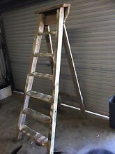 Wooden ladder Oakhampton Heights Maitland Area Preview