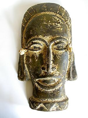 Ältere Maya Inka Terracotta Maske Skulptur Mexiko