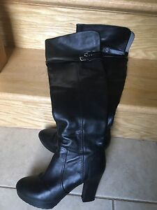 Over knee high winter boots size 7