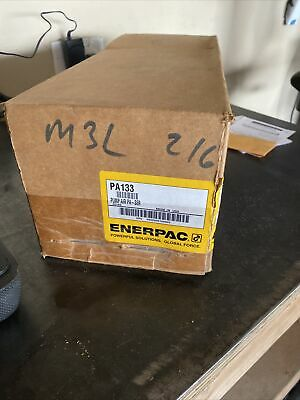 Enerpac Pa-133 Pa133 Pneumatic Air 10k Hydraulic Pump. New In Box