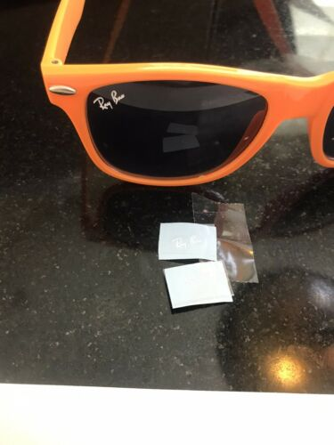 Home Decoration - 2 ray ban stickers for glasses 1cm High Quality Long Life Read Description