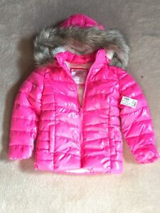 Pink Justice Winter Coat-5T-Brand New