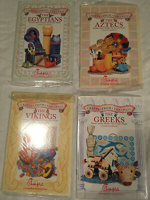lot CRAFTS FROM THE PAST Chick fil A THE GREEKS Egyptians AZTEC Vikings lot of 4 - Egyptian Chicks