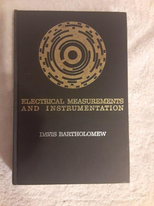 1966  Electrical Measurements and Instrumentation by Davis Bartholomew