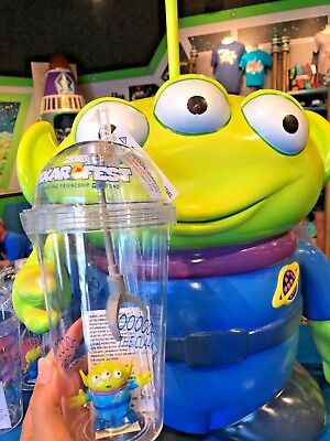 Disney Parks Pixar Fest Toy Story Little Green Men Claw Light Up Cup Tumbler - Toy Story Cup