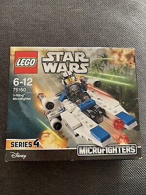 Lego Star Wars 75160 U-Wing Microfighter Series 4 New In Box