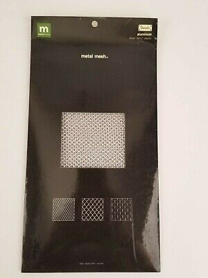 Making Memories Metal Mesh Details Aluminum 3 - 6 x 12 Sheets New in Package Making Memories Metal Sheets
