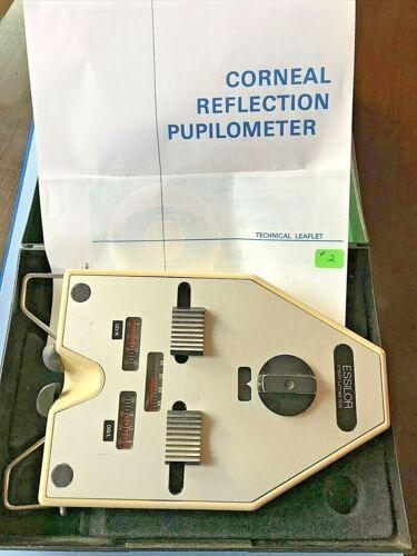 Analog Essilor Pupilometer w/ Case and Instructions - Vintage 2
