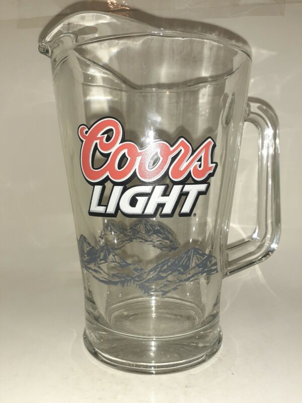 Coors Light Heavy Glass Picture