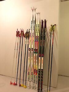 X-C Skis, Pole's, Boots and accesories