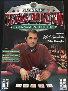 No limit Texas hold'em Tournament Edition PC game
