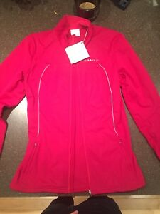 New Women's Cool Weather Running Jacket - Craft Size Small