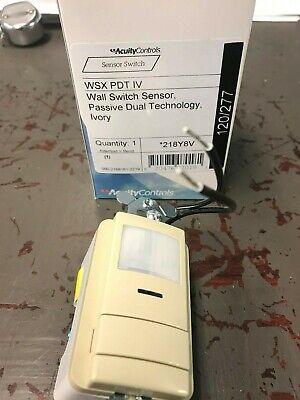 Sensor Switch Wsx Pdt Iv Occupancy Switch New In Box Ivory