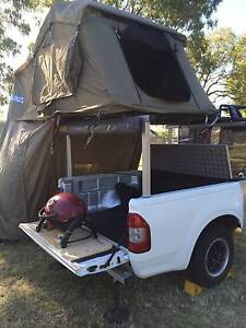 Custom Rooftop Tent (on trailer) Miami Gold Coast South Preview