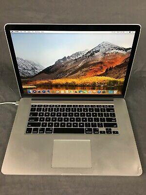 "Macbook Pro 15"" Mid 2015, i7 2.5 GHz, 16 GB Ram, 512 SSD, C Grade, A1398"