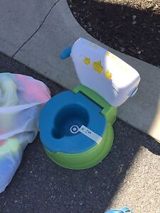 Musical potty seat