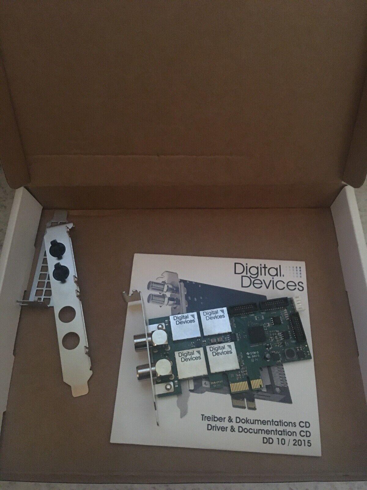 Digital Devices v7 Cine C2/T2 Card, PCI express TV Karte DVB C