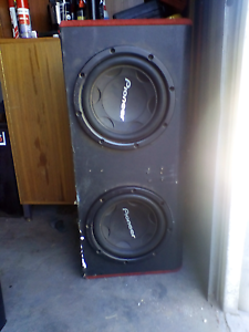 Pioneer subs and amp Brookton Brookton Area Preview