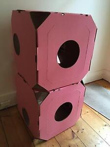 Catty Stack Boxes x 2 Cat boxes Lilyfield Leichhardt Area Preview