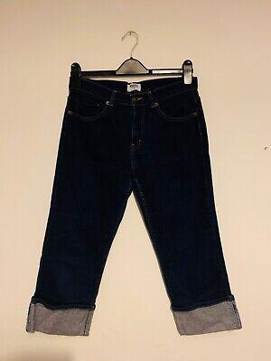 Topshop Moto dark blue 3 quarter Jeans size 12 used 💙💙 comprar usado  Enviando para Brazil