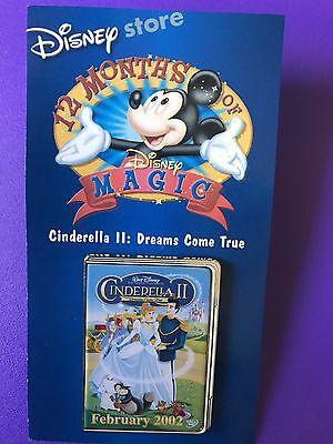 CINDERELLA 2: DREAMS COME TRUE PIN - 12 Months of Magic SERIES