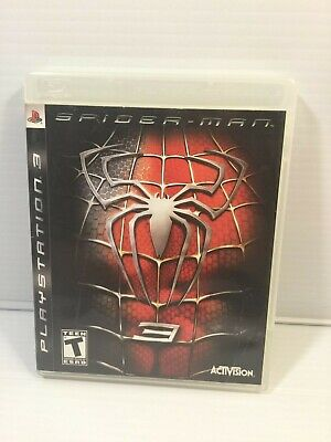 PS3 Spider Man 3 Playstation 3 Game