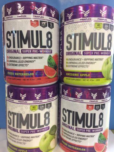 Finaflex Stimul8 Ultimate Super Pre-Workout *Pick Flavor, 40 Serv, FRESH 2022/23