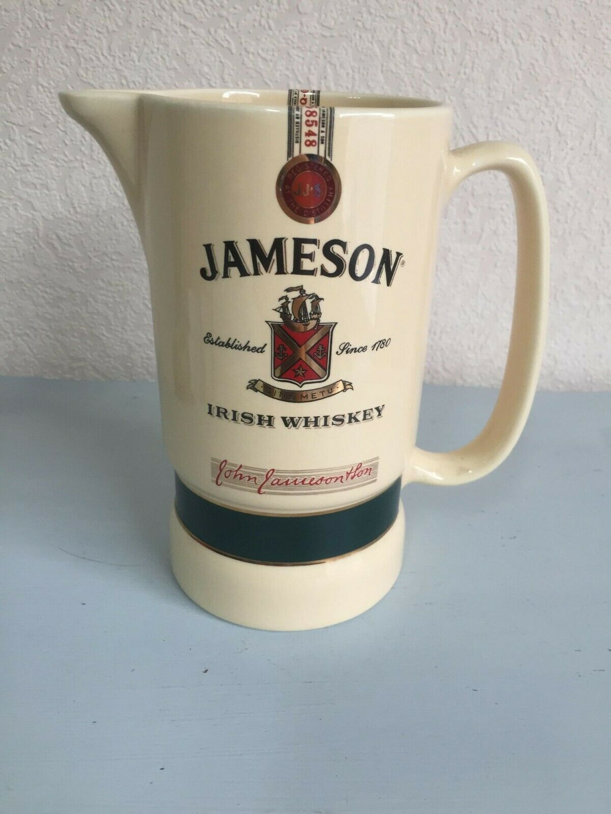 Carafe jameson irish whiskey