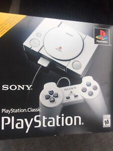 PLAYSTATION CLASSIC (NEW)