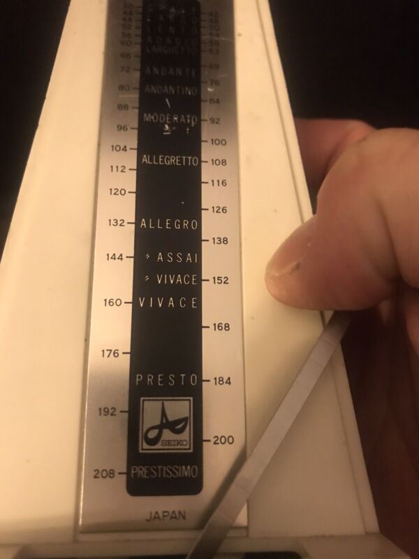 Vintage Seiko Mechanical Metronome