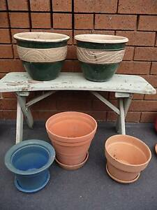 mixed lot of garden pots Thomastown Whittlesea Area Preview