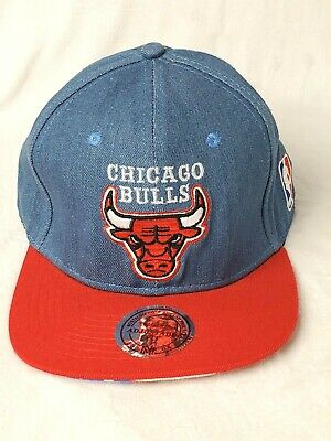 Vintage Chicago Bulls NBA Basketball Snapback Hat - Hardwood Classic