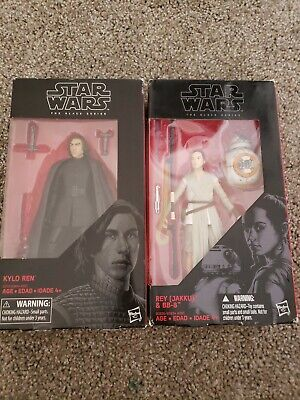 Star Wars: The Black Series - #45 Kylo Ren (Unmasked) and Rey with BB-8