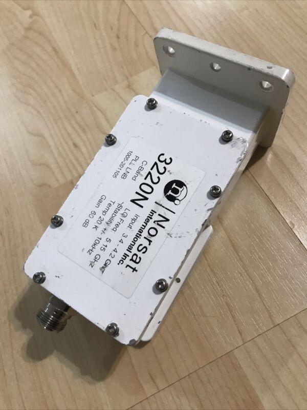 C band LNB 3220N,PLL LNB 3.4 - 4.2 GHz ±10 kHz Stability N type, Norsat