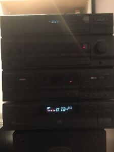 Kenwood CD stereo and cassette